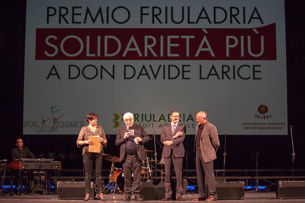 2014 premio Friuladria Solidarietà Più Don Larice