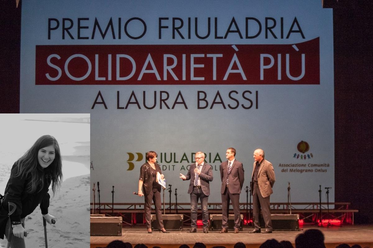 2015 premio Friuladria Solidarietà Più a Laura Bassi