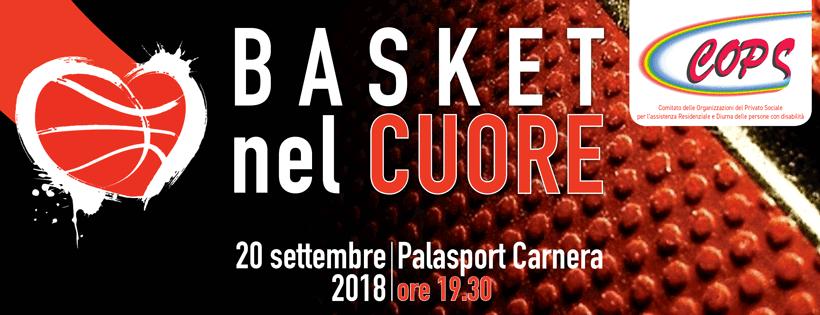 Basket Nel Cuore – Anche il Melograno all'evento benefico per l'integrazione delle persone con disabilità