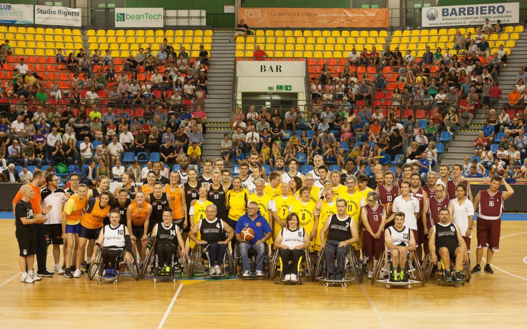 Basket nel Cuore – festa di sport e solidarietà con APU e LBS per l'integrazione delle persone con disabilità