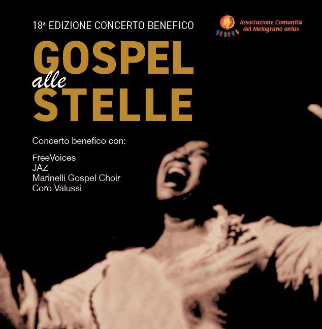 18° Gospel alle Stelle – al via le prevendite del concerto benefico per il Melograno Onlus