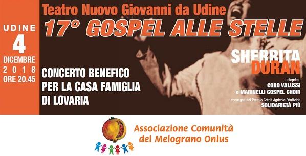17° Gospel alle Stelle – prevendite per il concerto benefico per il Melograno